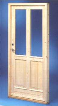 Aussentür  Blockhäus Bauteile - Innentüren und Außentüren | VÖRDER HOLZHAUS