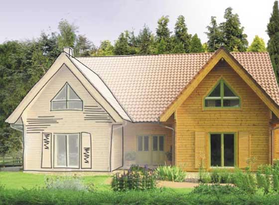 blockhaus von v rder holzhaus das bessere niedrigenergiehaus als fertighaus. Black Bedroom Furniture Sets. Home Design Ideas